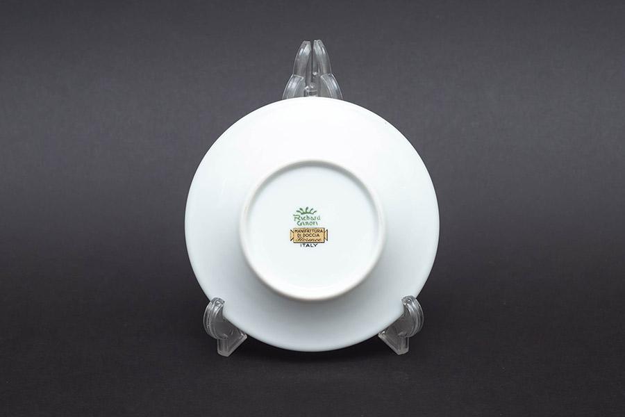 リチャード・ジノリ グランデューカ チョコレートカップ&ソーサー(丸型)