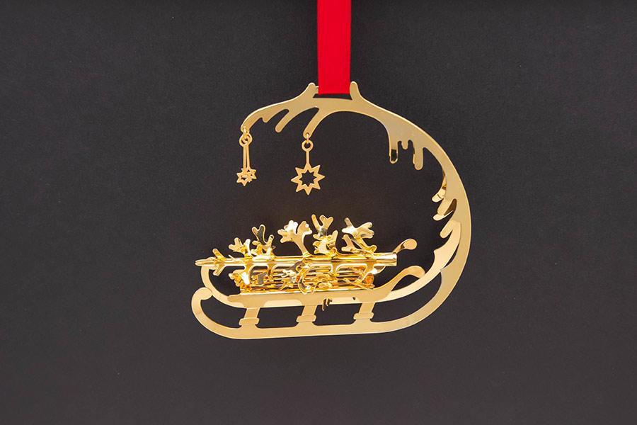 ジョージ・ジェンセン クリスマスオーナメント(1995年)『Christmas Sleigh』