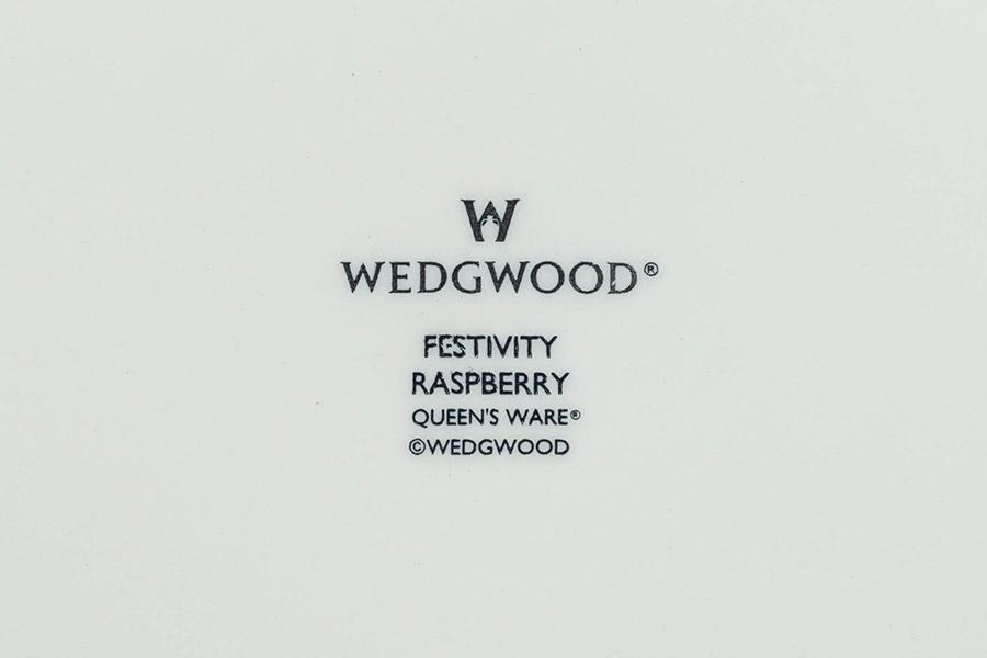 ウェッジウッド フェスティビティラズベリー 27cmプレート