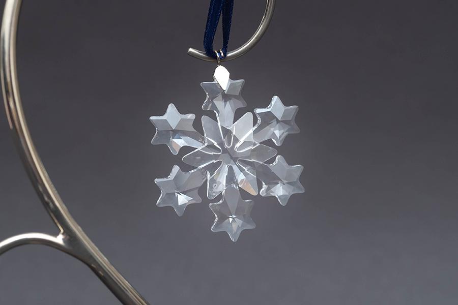 スワロフスキー クリスマスオーナメント スノーフレークセット(2004年)