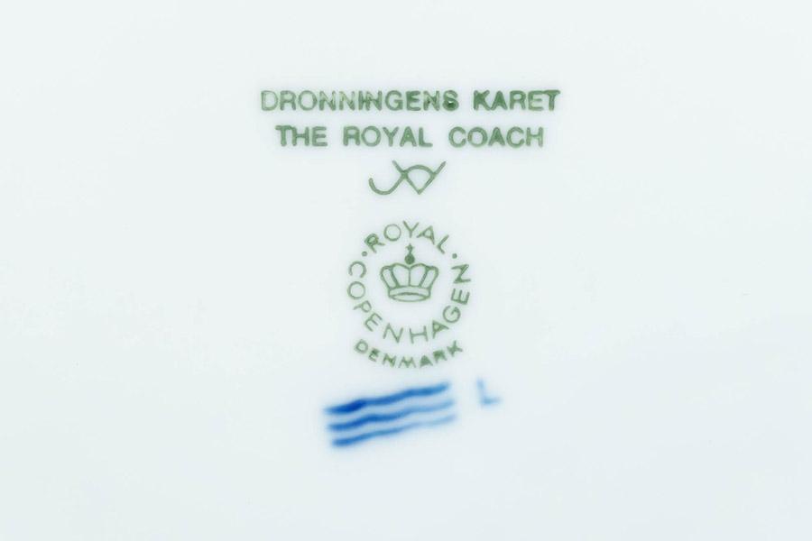 ロイヤル・コペンハーゲン イヤープレート(1992年)『The Royal Coach(女王の馬車)』
