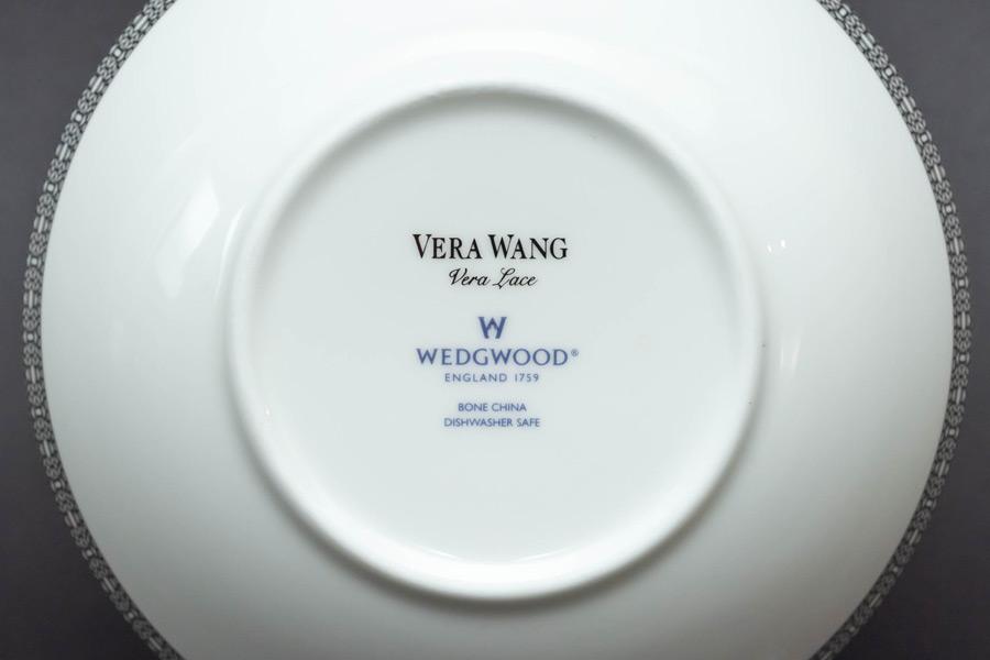 ウェッジウッド ヴェラ・ウォン マルチソーサー(ペア)