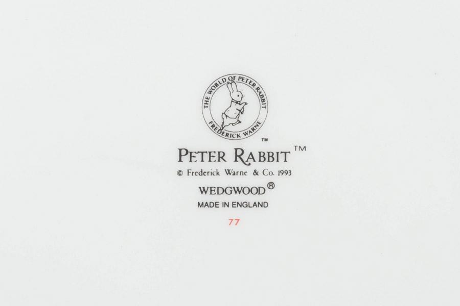 ウェッジウッド ピーターラビット センテナリー(100周年記念)25cmプレート