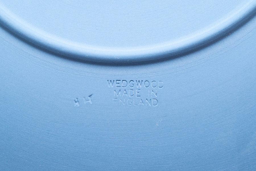 ウェッジウッド ジャスパー(ペールブルー) 23cmプレート