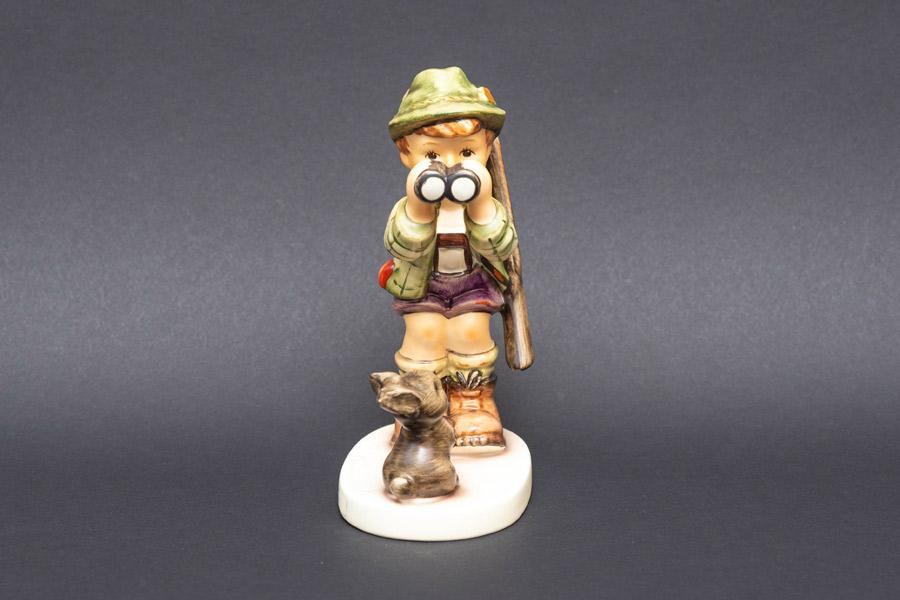 ゲーベル フンメル人形 『Good Hunting!(良い狩りを!)』