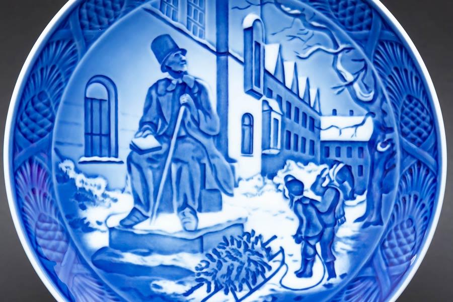 ロイヤル・コペンハーゲン イヤープレート(2014年)『Hans Christian Andersen(アンデルセン)』