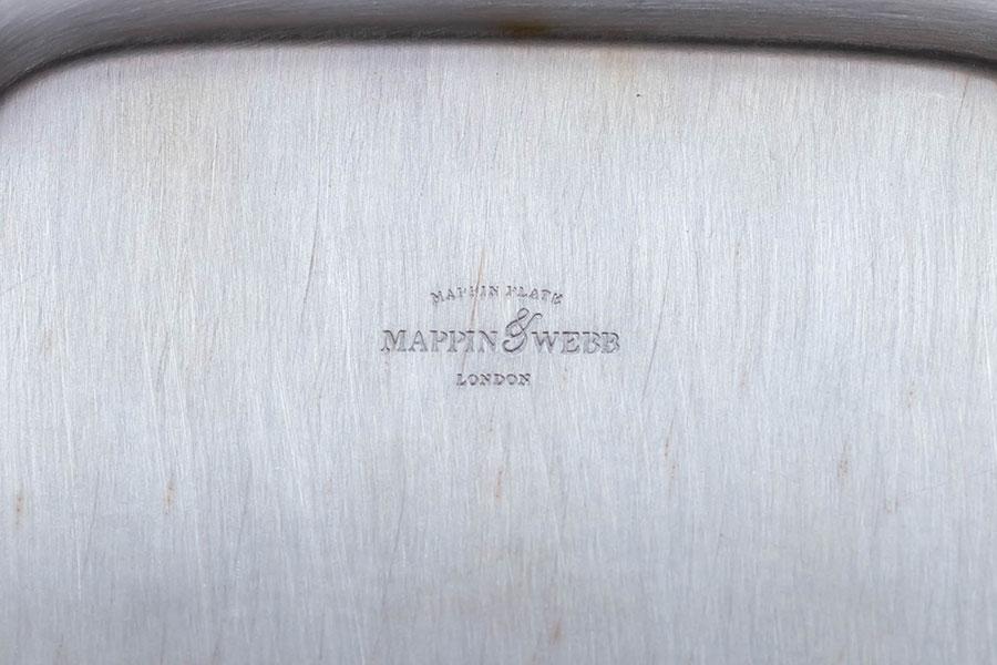 マッピン&ウェッブ 17cmオクタゴナルトレイ(マッピンプレート)