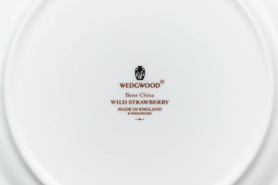 ウェッジウッド ワイルドストロベリー アクセント(ピンク)20cmプレート