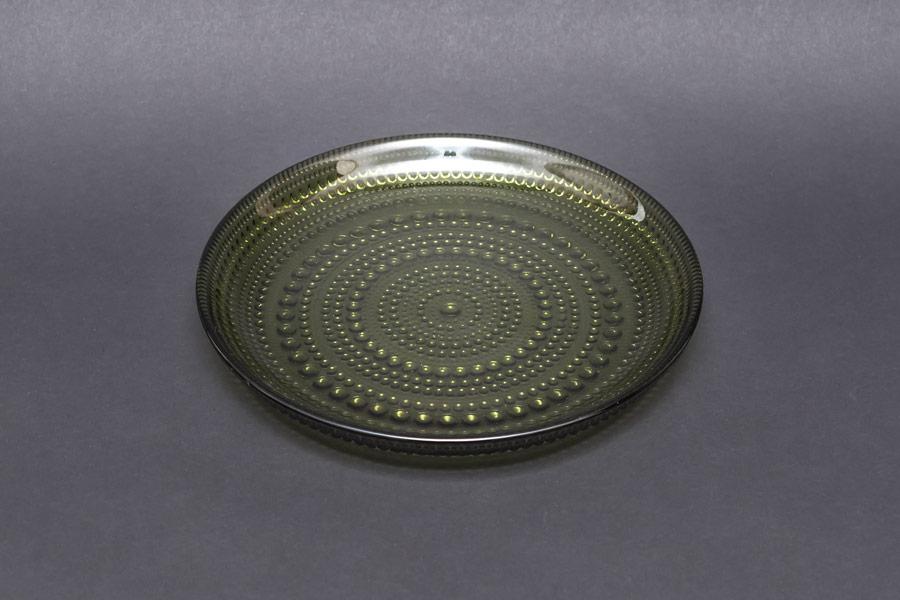 イッタラ カステヘルミ 17cmプレート(モスグリーン)