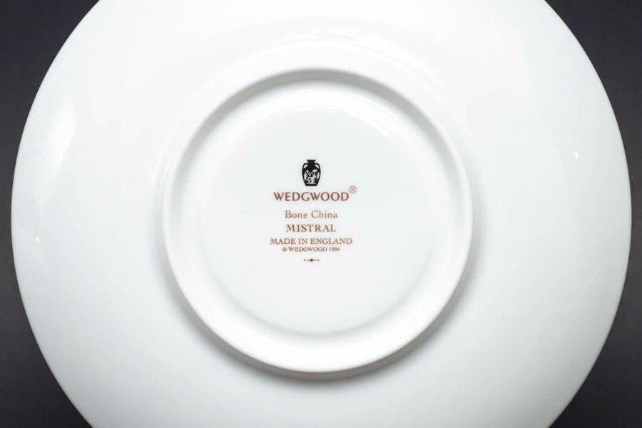 ウェッジウッド ミストラル ティーカップ&ソーサー(ピオニー)