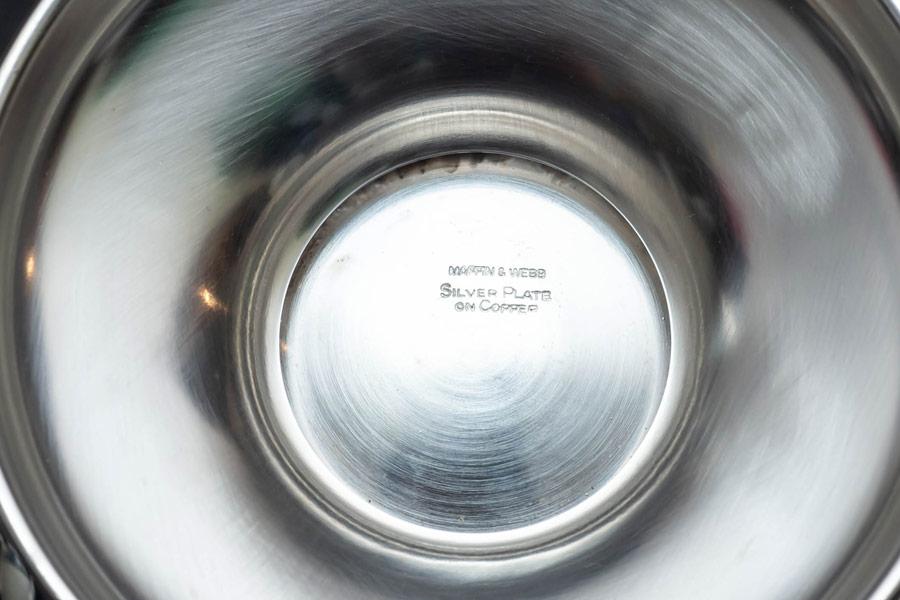 マッピン&ウェッブ 20cmコンポート(シルバープレート)