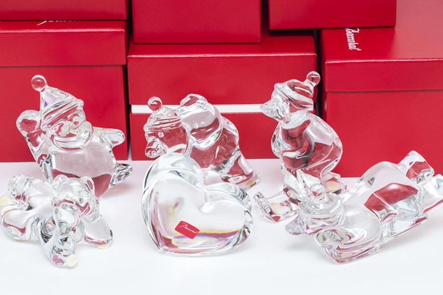 バカラのノエル(クリスマスコレクション)をはじめ、いろいろお買取しました!