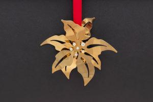 ジョージ・ジェンセン クリスマスオーナメント(2001年)『Poinsettia』