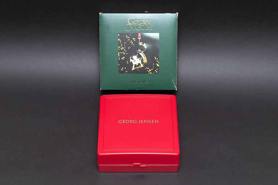 ジョージ・ジェンセン クリスマスオーナメント(2002年)『Christmas Bustle』