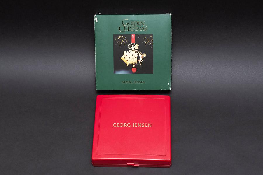 ジョージ・ジェンセン クリスマスオーナメント(2003年)『Christmas Pig』