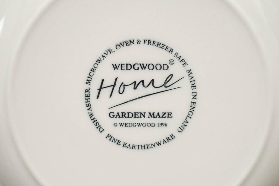 ウェッジウッド ガーデンメイズ 21cmプレート(ユキワリソウ)