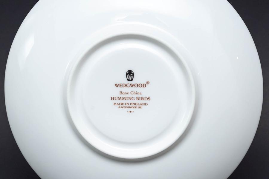 ウェッジウッド ハミングバード ティーカップ&ソーサー(リー)