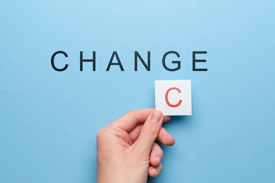 Change is Chance.
