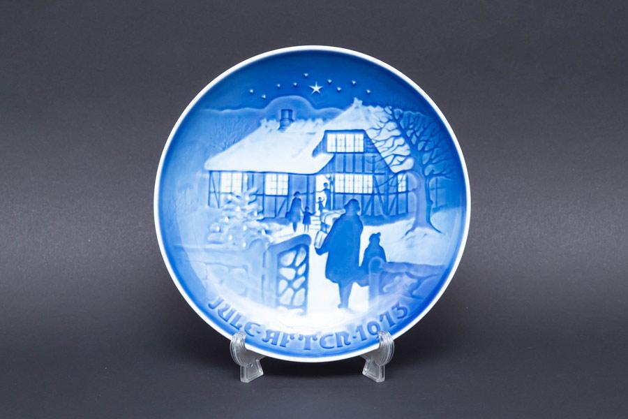 ビング・オー・グレンダール クリスマスプレート(1973年)『Country Christmas』