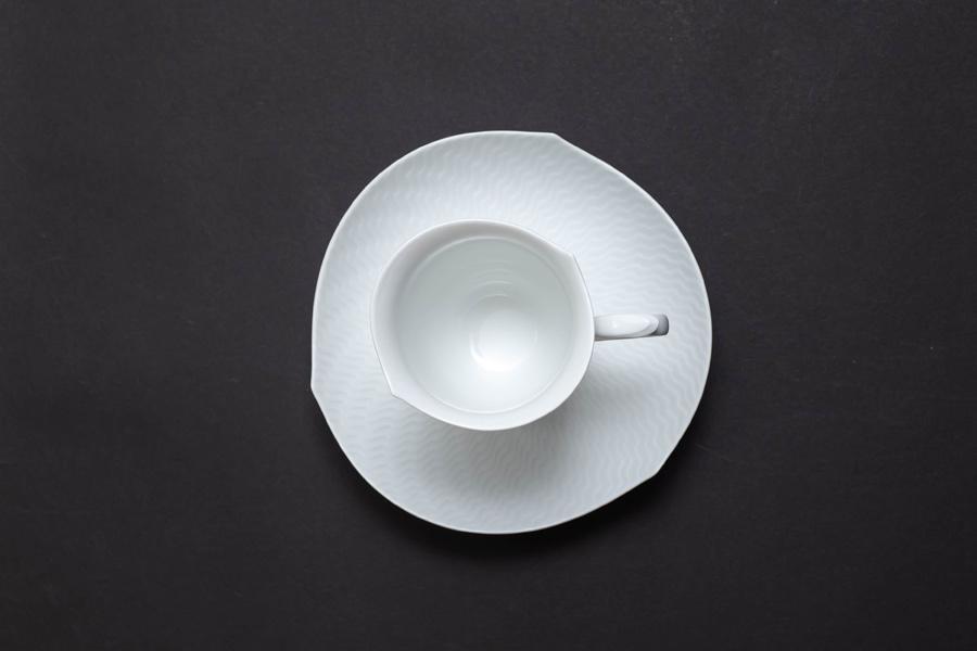 マイセン 波の戯れ コーヒーカップ&ソーサー