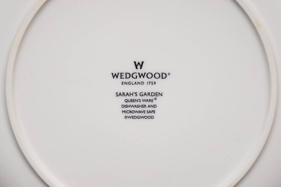 ウェッジウッド サラズガーデン 27cmプレート(グリーン)