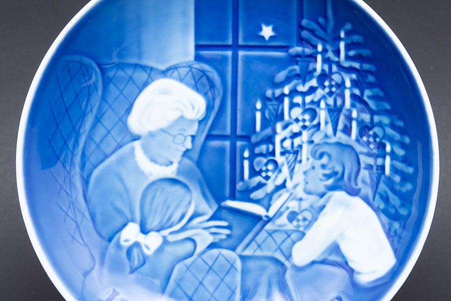 ビング・オー・グレンダール クリスマスプレート(1978年)『A Cristmas Tale』