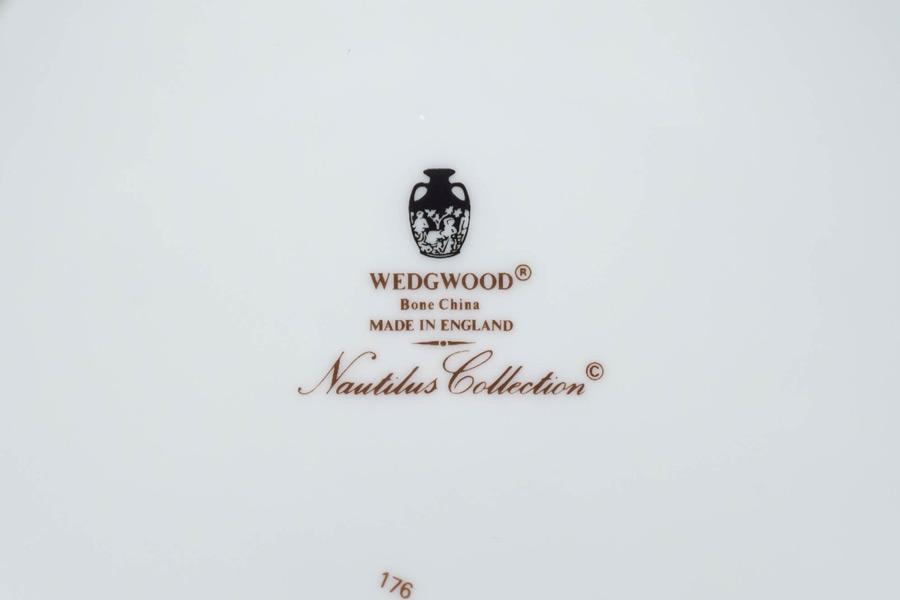 ウェッジウッド ノーチラスコレクション 23cmシェルディッシュ