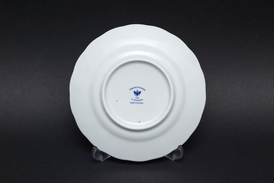 インペリアル・ポーセリン コバルトネット 15cmプレート