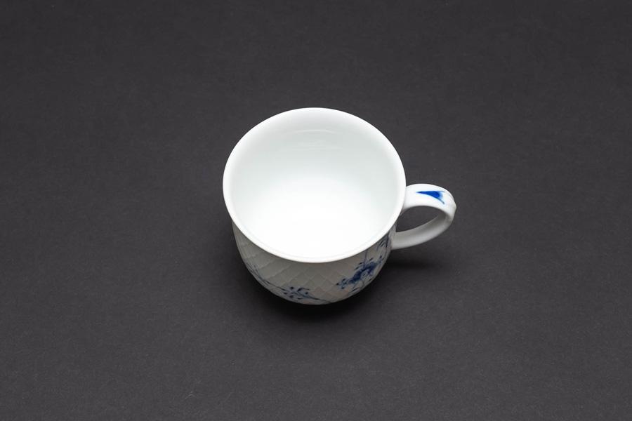 ロイヤル・コペンハーゲン ブルーパルメッテ ハンドル付きカップ