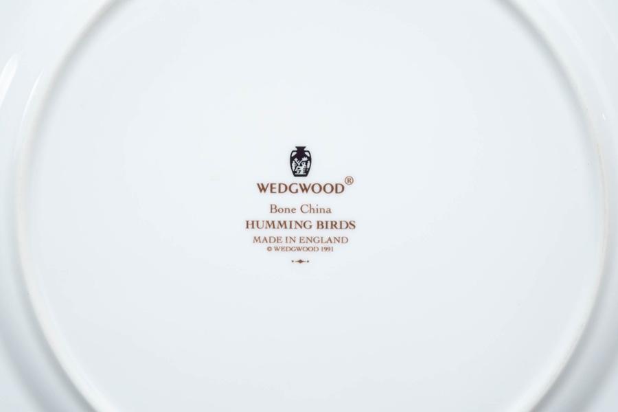 ウェッジウッド ハミングバード 27cmプレート