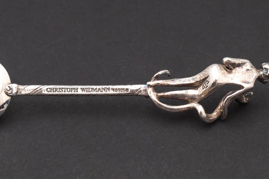 クリストフ・ウィドマン イヤースプーン(2001年)6本セット