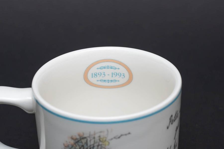 ウェッジウッド ピーターラビット センテナリー(100周年) マグ