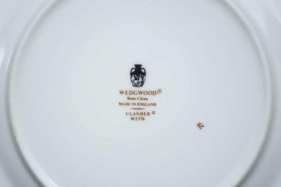 ウェッジウッド ユーランダーパウダーブルー 20cmプレート