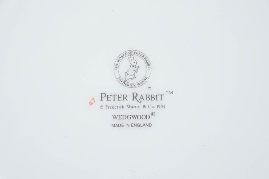 ウェッジウッド ピーターラビット バースデープレート(1995年)