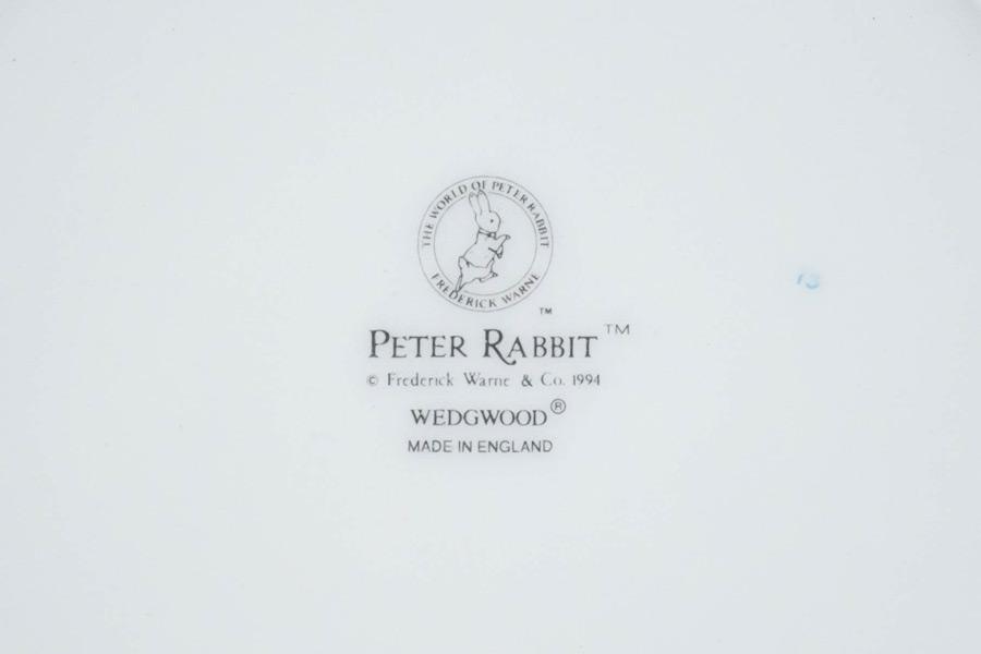 ウェッジウッド ピーターラビット バースデープレート(1996年)