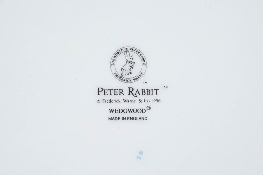ウェッジウッド ピーターラビット バースデープレート(1997年)