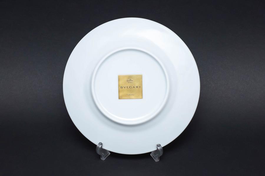ローゼンタール × ブルガリ コンチェルト(バイオリン) 19cmプレート