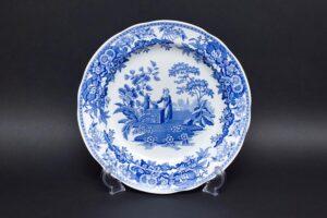 スポード ブルールームコレクション(ガール・アット・ウェル) 27cmプレート