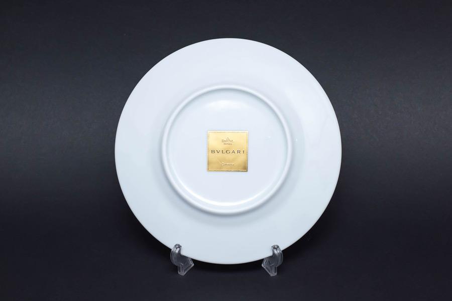ローゼンタール × ブルガリ コンチェルト(木琴) 19cmプレート