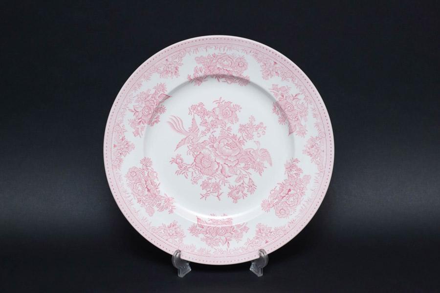 バーレイ ピンクアジアティックフェザンツ 22cmプレート