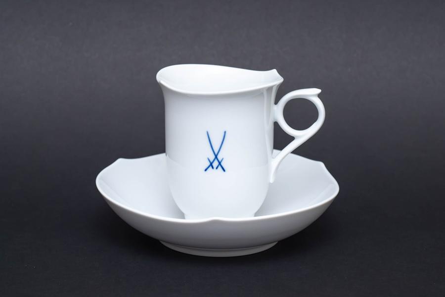 マイセン 剣マーク コーヒーカップ&ソーサー