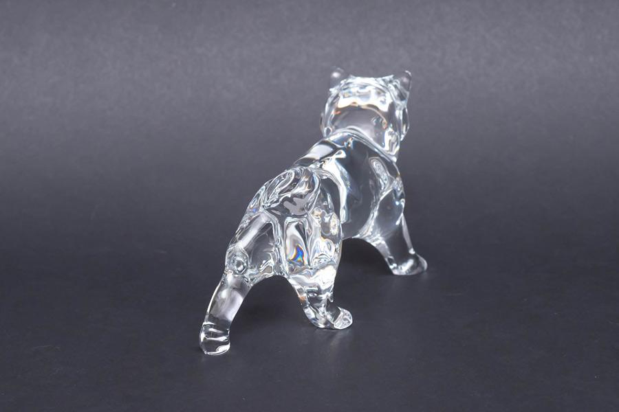 バカラ 干支フィギュリン(2006年)「戌(イヌ)」