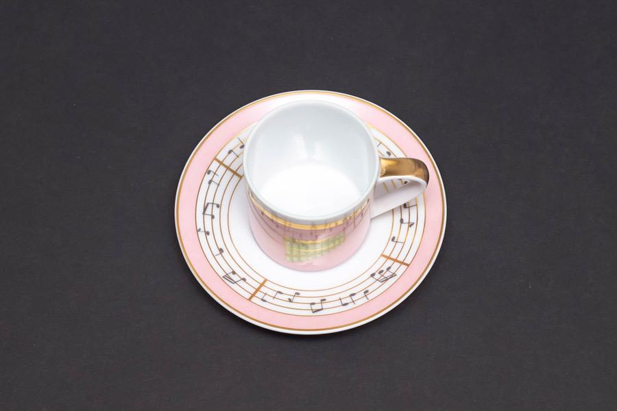 ローゼンタール × ブルガリ コンチェルト(木琴) デミタスカップ&ソーサー