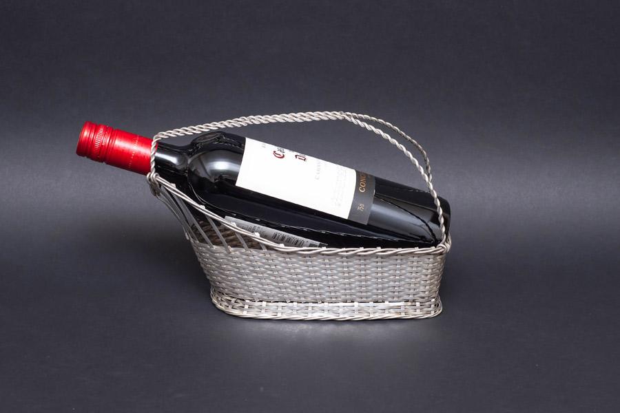 マッピン&ウェッブ シルバーワインバスケット