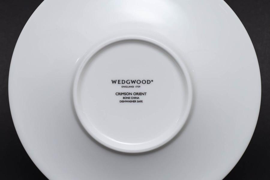 ウェッジウッド ワンダーラスト(クリムゾンオリエント) ティーカップ&ソーサー
