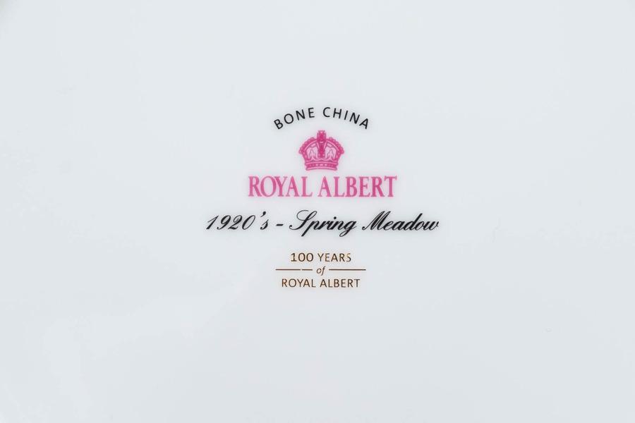 ロイヤル・アルバート 100周年記念コレクション(1920年) スプリングメドウ トリオ