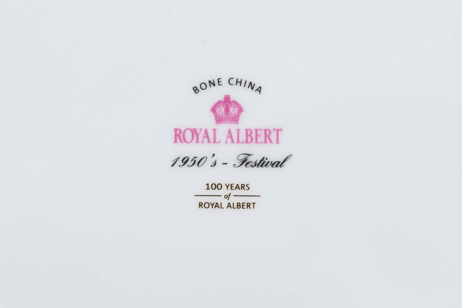 ロイヤル・アルバート 100周年記念コレクション(1950年) フェスティバル トリオ
